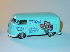 M2 MACHINES 1960 60 VOLKSWAGEN VW PEZ DELIVERY VAN -Light Blue, 1/64