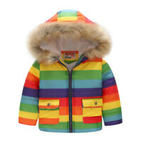 Warm Winter Child Coat Toddler Outerwear Boy Hooded Jacket Windbreaker Clothes