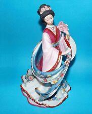Danbury Mint figurine ornament ' Plum Blossom Princess'  By Lena Liu 1st quality