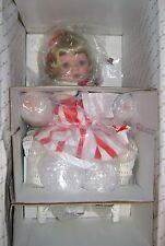 Star-Spangled Sweetheart Porcelain Doll from Danbury Mint New in box w/COA