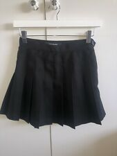 HARDLY WORN Black American Apparel Tennis Skirt Size XS
