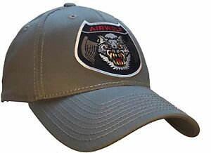 Airwolf Hat Bell 222 Helicopter 100% COTTON Gray Ball Cap