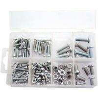 Amtech 150 Piece Mixed Nut And Bolt Set Housed In Plastic Storage Case
