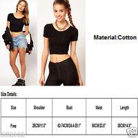 Women Sexy Off Shoulder Long Sleeve Shirt Lace Chiffon Blouse Loose Top T Shirt