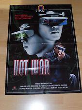 HOT WAR - Video Poster A1 ´00 - EKIN CHENG Jordan Chan KELLY CHEN