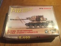 MAQUETTE RESINE CHAR TANK T122 EGYPTIAN 122mm SELF PROPELLED HOWITZER 1/35 NEUF
