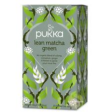 Thé vert matcha forme Pukka herbs stimuler votre intérieur mélange ayurvédique
