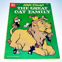The Great Cat Family (Four Color) #750 1956 Dell $.10-c. 36 pgs. Golden Age
