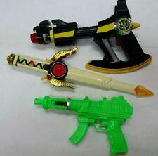 RARE Vintage Pair 1994-98 Saban Power Rangers Weapons + Japanese Weapon 3pcs