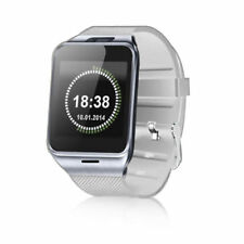 Luxus Smart Watch GV18 WEIß Bluetooth Uhr iOS Android Samsung Sony SIM HTC
