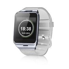 Luxus Smart Watch GV18 WEIß Bluetooth Uhr iOS Android Samsung Sony SIM HTC