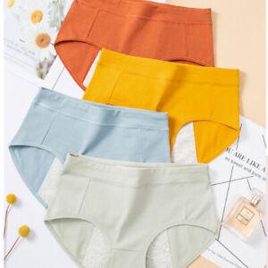 Women Menstrual Period Physiological Pants Leakproof Panties Briefs Underwear