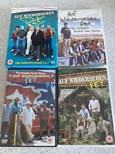 Auf Wiedersehen Pet complete Series 1,2,3,4 & Special
