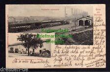 117037 AK Vitry-sur-Orne Wallingen in Lothringen 1903 Bahnhof Rombacher Hüttenwe