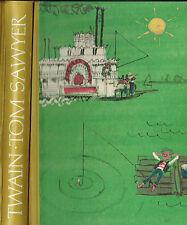 Mark Twain, Tom Sawyer's Abenteuer, ill. Horst Lemke, Bertelsmann Halbleder 1963