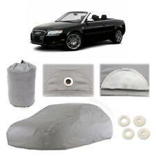 Audi S4 6 Layer Car Cover Fitted In Out door Water Proof Rain Snow Sun Dust