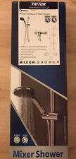 Triton Showers Cromo Single Lever Mixer Bar Shower, Chrome - New, Sealed