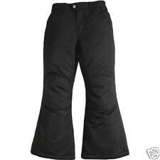 Faded Glory Girls Black Snow Pants Size 4-5 Xs