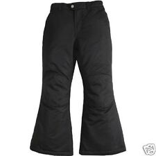 Faded Glory Girls Black Snow Pants Size 6-6X Small