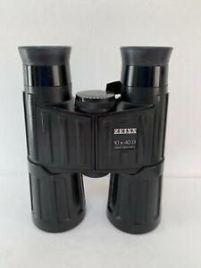 Vintage Zeiss West Germany 10 x 40 B T* Binoculars S/N 1886144