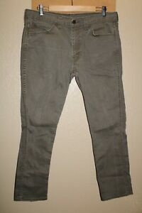 "LEVI'S 511 Mens 36""W 30""L brown SKINNY Jeans/Pants Combine ship Discount"