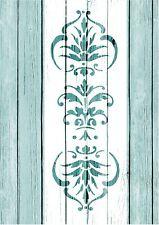 Stencil,victorian scroll 1 , French, Wedding, ShabbyChic,fabric, furniture
