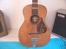 1930's Vintage Supertone The PREP  Rare Harmony parlor guitar Pretty Good cond.