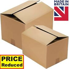 More details for single wall cardboard boxes brown storage boxes storage postage house move