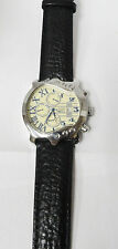 Men's Stauer watch 27 Jewels guitar style 3 ATM auto wind. Excellent condition.