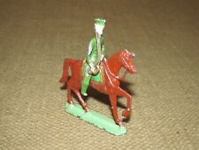 Vintage Die Cast Military War Horse & Removable Soldier Rider FREE US SHIPPING