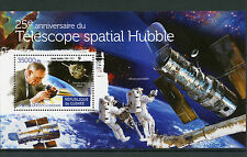 Guinea 2015 MNH Hubble Space Telescope 25th Anniv 1v S/S Edwin Hubble