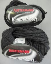 (75 €/ kg): 700 g Austermann BAMBOU SOFT, schwarz 002 #2735
