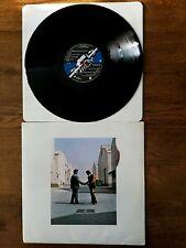"""LP PINK FLOYD - """"WISH YOU WERE HERE"""" - Harvest SHVL 814 - UK 1975"""