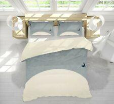 3D Moon Swallow A014 Bed Pillowcases Quilt Duvet Cover Boris Draschoff Zoe