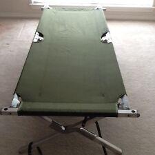 Genuine Army U.S. GI Military Aluminum Folding Cot