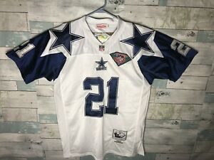 Deion Sanders Thanksgiving Day Mitchell/Ness Jersey With 75th Patch Size 48