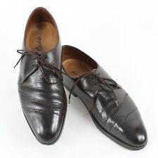 John Lobb Sz 9.5? Cordovan Brown F18 Perrier? Men's Oxford Shoes 825Q
