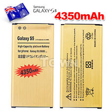 Brand New Replacement Li-ion Gold Battery For Samsung Galaxy S5 G900 4350mAh