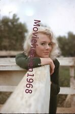 Inger Stevens RARE 35MM SLIDE TRANSPARENCY 6194 NEGATIVE PHOTO