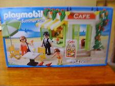 Playmobil Play Set #5129 ~ 104 Pieces Summer Fun Cafe ~ NEW!!