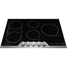"""Frigidaire Pro Stainless 30"""" Glasstop smooth top Electric cooktop FPEC3077RF"""