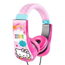 Hello Kitty Kid Safe Over The Ear Headphone With Volume Limiter, Styles May Vary