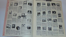 VINTAGE 1957 APPLIANCE CATALOG! TV's/RADIOS/WASHERS/STOVES/CAMERAS/HI FI! PRICES