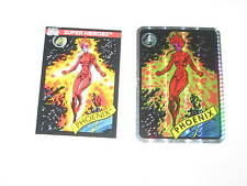1990 Marvel Universe Series 1 Vending Machine Prism Sticker #11! Phoenix