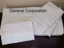 24 Bath Towels Hotel Motel SPA Salon GYM Towel White 20X40 inch 100% Cotton
