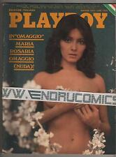 PLAYBOY 1976 MARIA ROSARIA OMAGGIO MILENA VUKOTICH MARINA GIORDANA LAURA LYONS