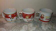 Campbells Soup Ceramic Soup Mugs by Houston Harvest / Lot of 3