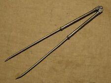 Outil ancien grand compas d'épaisseur  lg 38 cm