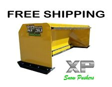 8 Xp30 Snow Pusher With Pullback Bar Free Shipping Rtr Skid Steer Bobcat
