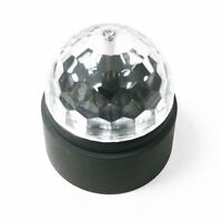 LED BC or Battery Disco Ball Rotating Stage Lighting Party DJ Club Light Bulb